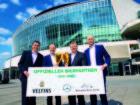 Mercedes-Benz Arena  serviert frisches Veltins