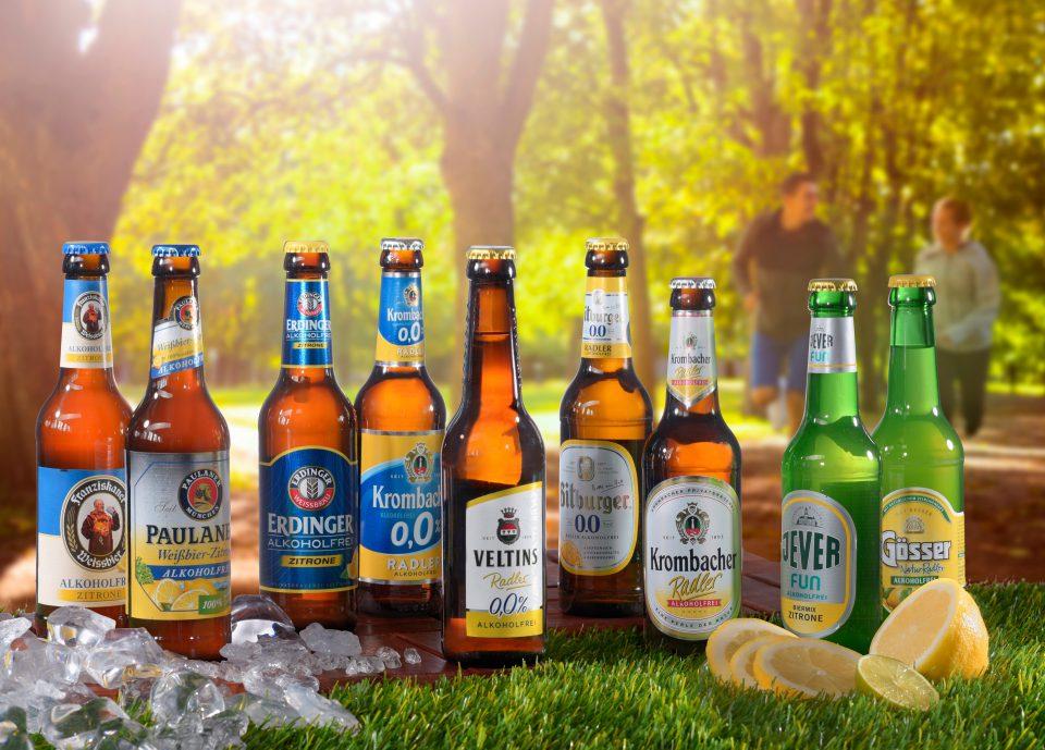 Alkoholfreies Radler ist der große Sortengewinner und  legt national um satte 25 % zu
