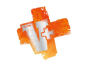 VELTINS V+ Logo 4c