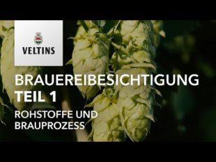 VELTINS Brauereibesichtigung Teil 1 – Rohstoffe und Brauprozess
