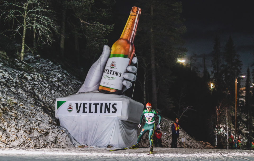 Frisches Veltins forciert  Engagement im Wintersport